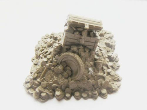 Treasure - coin pile (a)